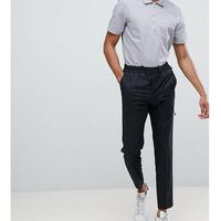 Selected Homme Trouser With Elasticated Waistband In Tapered Fit - Black