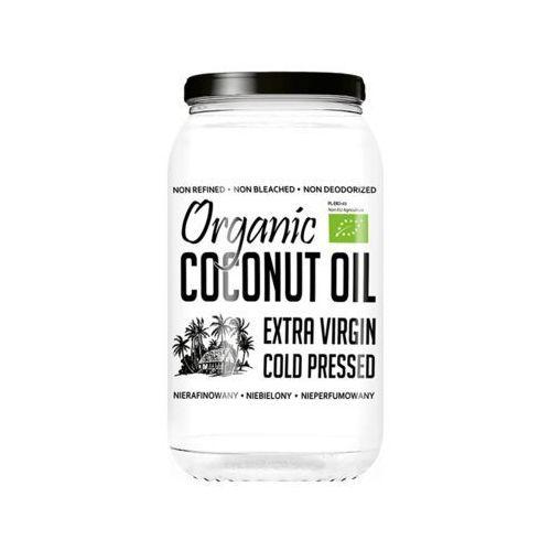 DietFood Organic Coconut Oil - Bio Olej Kokosowy 1000ml - nierafinowany (5906395147212)