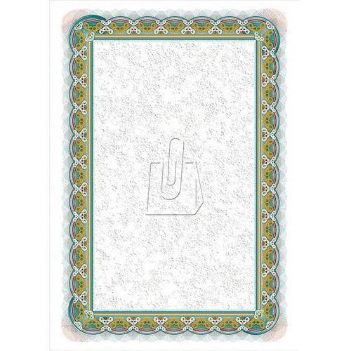 Papier na dyplomy certyfikaty srebro 250g 20 szt marki Galeria papieru