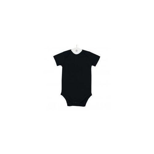 Dziecięce body krótki rękaw czarne, B CZARNY KR
