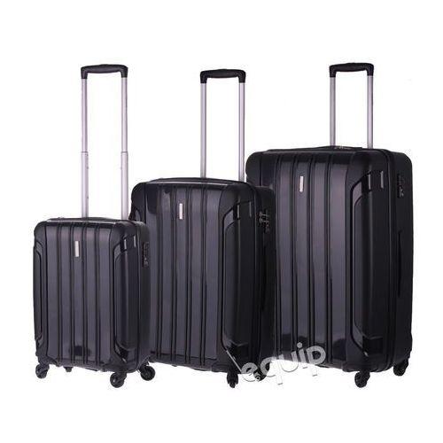 OKAZJA - Zestaw walizek Travelite Colosso - czarny