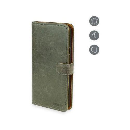 Etui SKINK Book do Lumia 640 Szary
