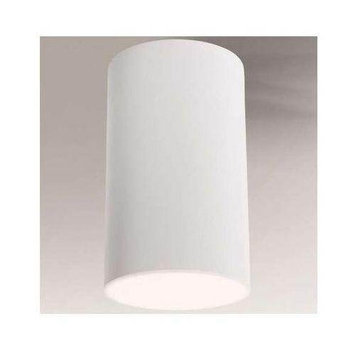 Downlight LAMPA sufitowa ARAO 1178/GX53/BI Shilo natynkowa OPRAWA spot tuba biała, kolor Biały