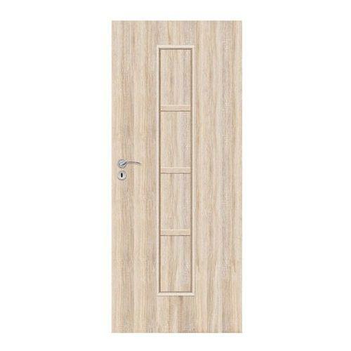 Drzwi pełne Olga 90 prawe dąb sonoma, SOLGADS000007