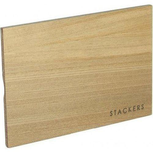 Pokrywka drewniana do pudełek na biżuterię Mini Stackers jasna, 73517