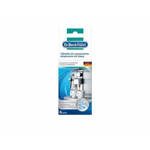 tabletki do czyszczenia ekspresów 6 szt marki Dr. beckmann