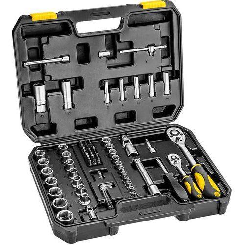 Zestaw kluczy nasadowych TOPEX 38D694 1/2 i 1/4 cala (82 elementy) + DARMOWY TRANSPORT!