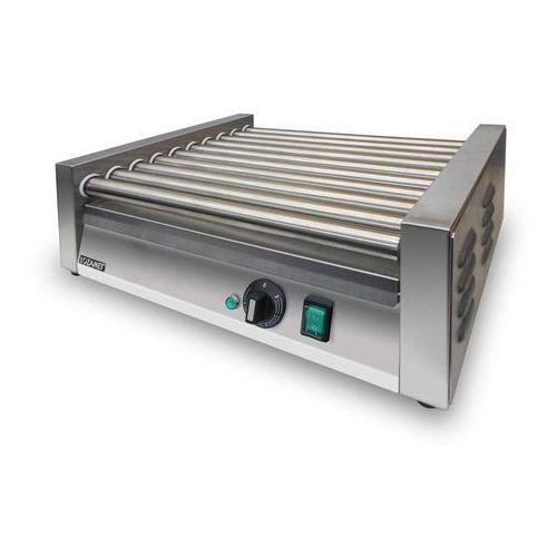 10-rolkowy grill do parówek, rolki nierdzewne   , gr1a10n marki Lozamet