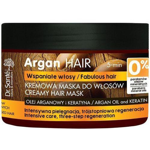 Dr.sante argan hair maska kremowa do włosów uszkodzonych 300ml (8588006035087)