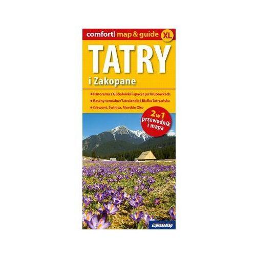 Mapa Tatry i Zakopane 2w1