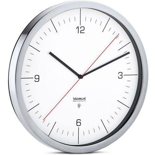 Zegar ścienny sterowany radiowo Blomus Crono biały (B65436), 65436