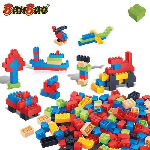 BanBao, zestaw podstawowy, 8489, klocki, 194 elementów Darmowa wysyłka i zwroty