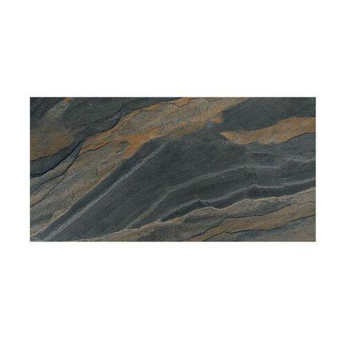 Saturn Gres szkliwiony slate anthracite rektyfikowany 60 x 120 (4823107810459)