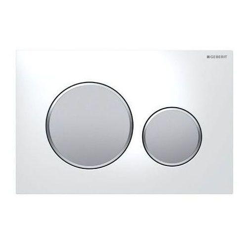 Geberit przycisk sigma 20 biały/chrom mat/chrom mat 115.882.kl.1