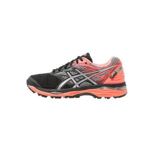 ASICS GELCUMULUS 18 GTX Obuwie do biegania treningowe black/silver/flash coral, kolor czarny