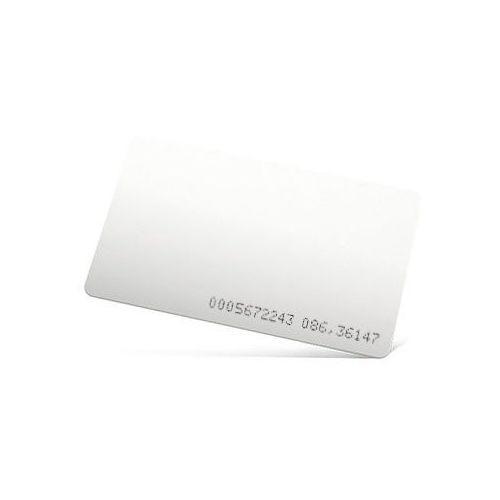 Import Karta zbliżeniowa 125 khz unique iso biała z nadrukowanym numerem