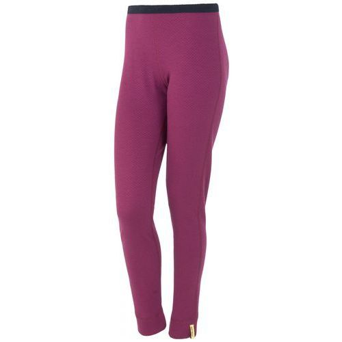 Sensor spodnie termoaktywne z długą nogawką Double Face Merino Wool W Lila M (8592837017792)