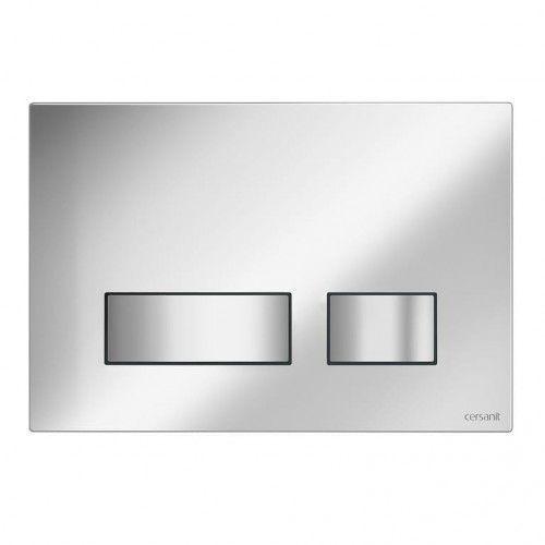 CERSANIT przycisk Movi chrom matowy S97-011, S97-011