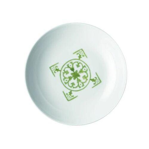 Guzzini - tiffany - talerz głęboki le maioliche, zielony (8008392295136)