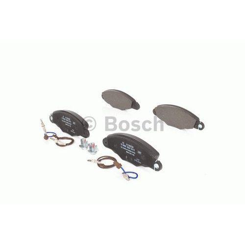 Bosch Zestaw klocków hamulcowych, hamulce tarczowe 0 986 424 511 (3165143660485)
