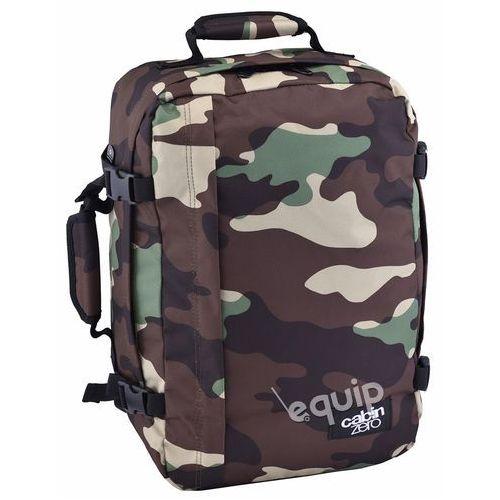 Cabinzero Plecak torba podręczna 36l + pokrowiec organizer gratis - jungle camo