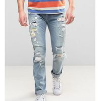 Levis 505C Slim Fit Orange Tab Jeans Harry Wash - Blue, kolor niebieski
