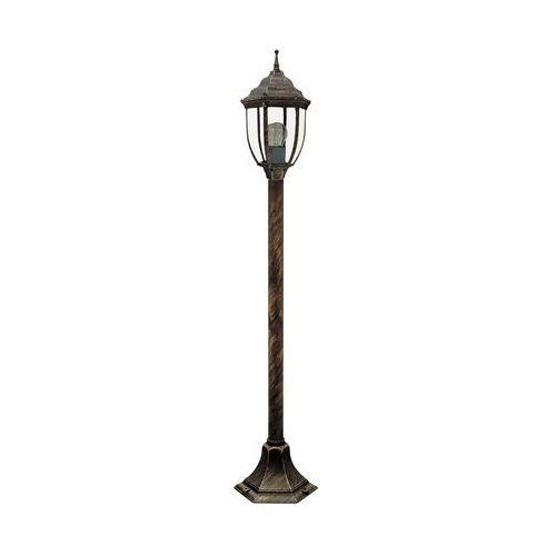 Lampa stojąca oprawa zewnętrzna Rabalux Nizza 1x60W E27 IP43 antyczne złoto 8455