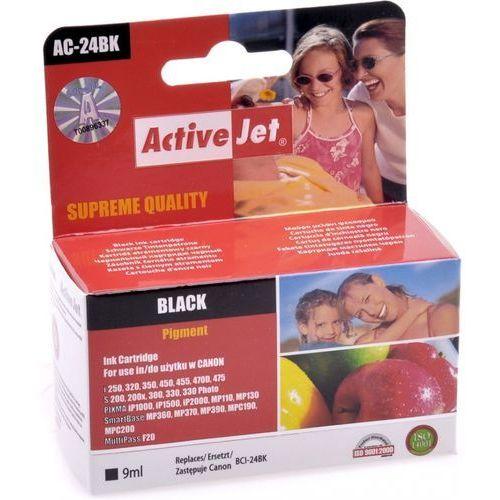 ActiveJet AC-24BN (zamiennik BCI-24BK) - produkt w magazynie - szybka wysyłka!, kolor Black