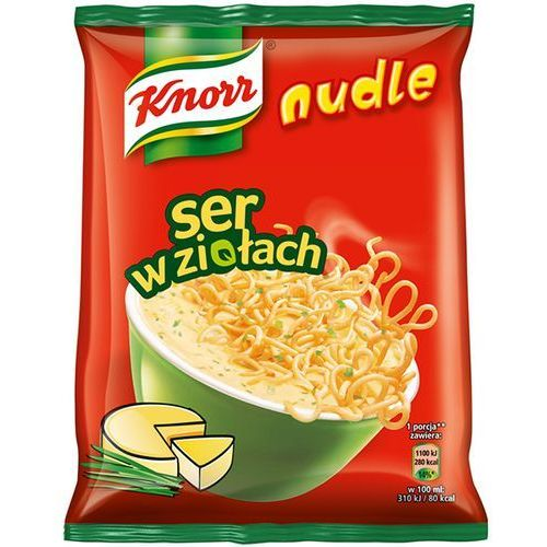 Nudle Ser w ziołach Zupa-danie Knorr 61 g, kup u jednego z partnerów