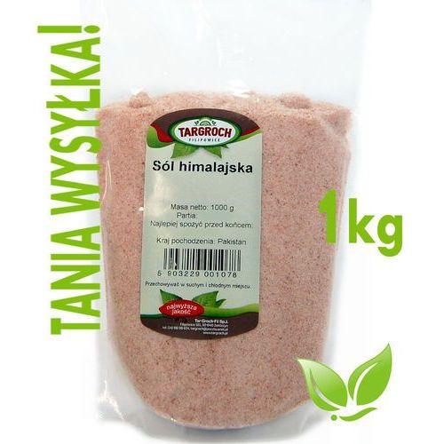 Sól Himalajska Różowa Drobna Spożywcza 1kg-Targroch