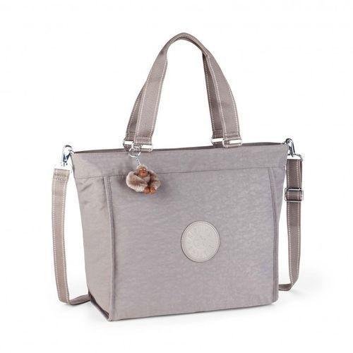 Torba na ramię new shopper l - urban grey marki Kipling