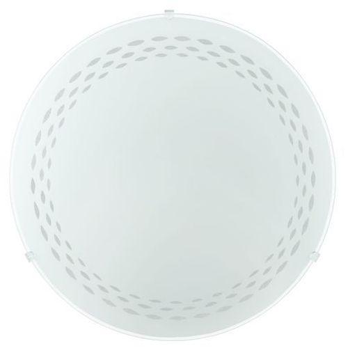 Eglo Plafon twister 82893 lampa oprawa ścienna sufitowa 1x60w e27 biały