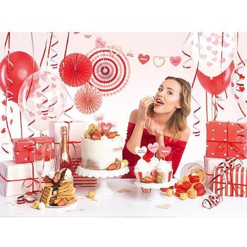 Party Box - Imprezowe Pudełko - Zestaw dekoracji na urodziny Sweet Love