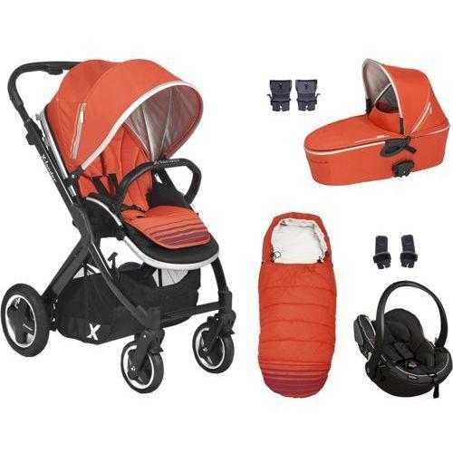 X-LANDER Zestaw wózek wielofunkcyjny X-Pulse, Orange - sprawdź w wybranym sklepie