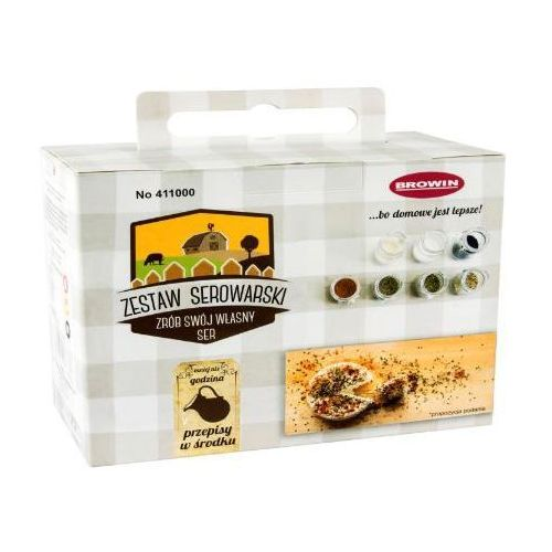 Zestaw serowarski młody serowar 411000 + zamów z dostawą jutro! marki Browin