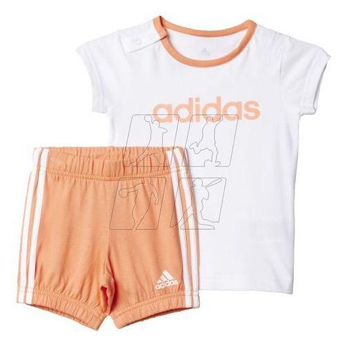 Komplet adidas Summer Easy Girls Set Kids AK2611