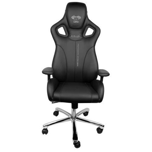 E-BLUE Cobra czarny gaming chair MGEBH06KB000 >> BOGATA OFERTA - SZYBKA WYSYŁKA - PROMOCJE - DARMOWY TRANSPORT OD 99 ZŁ!