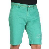 Szorty bermudy męskie LA MARTINA - DMB001TW31-68, kolor zielony