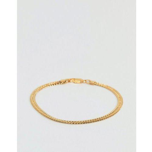 serpentine bracelet in gold - gold marki Mister