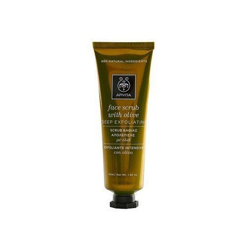 Apivita Express Beauty Olive peeling głęboko oczyszczający do twarzy 50 ml z kategorii Peeling do twarzy
