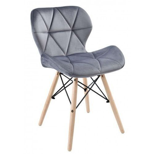 Krzesło axel velvet aksamit zielone marki Krzeslaihokery