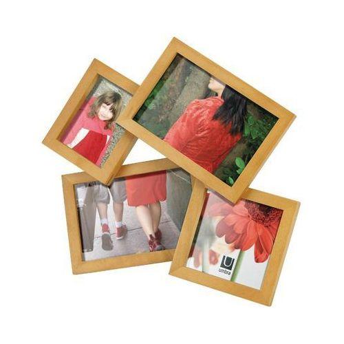- zestaw ramek na zdjęcia - mosh natural marki Umbra