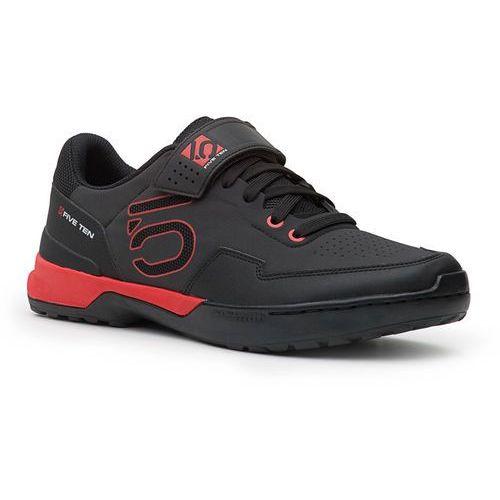 Five ten kestrel lace buty czerwony/czarny uk 7,5   eu 41,5 2018 buty mtb zatrzaskowe