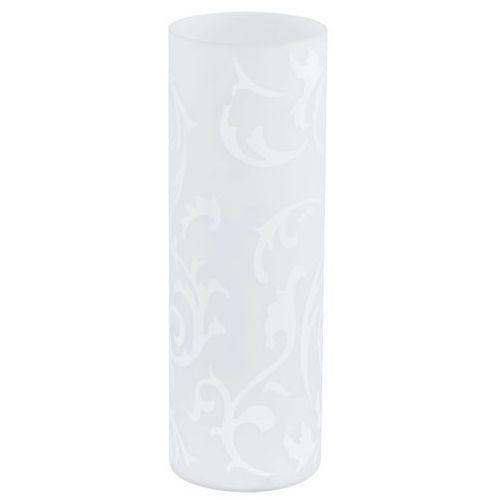Lampka stołowa Eglo Geo lampa oprawa 1x60W E27 biała 91243
