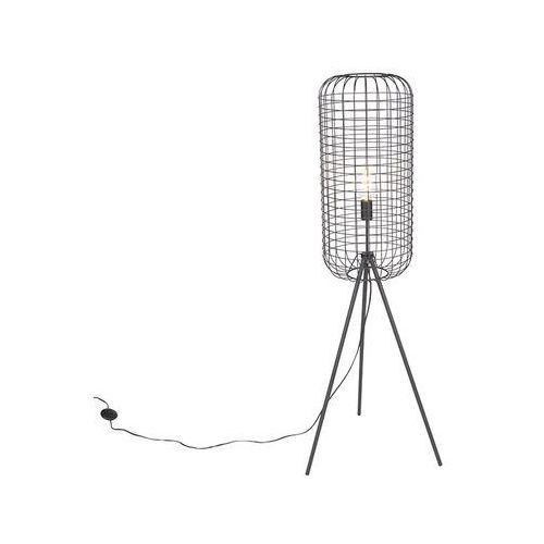 Przemysłowa lampa podłogowa statyw czarny - pajaros marki Leuchten direct