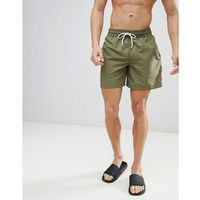 Polo Ralph Lauren Traveller Swim Shorts Player Logo in Olive Green - Green, w 3 rozmiarach