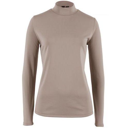 """Shirt z długim rękawem """"Talking Tom"""", świecący w ciemności bonprix czarny, kolor brązowy"""
