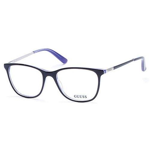 Okulary Korekcyjne Guess GU 2566 001 - produkt z kategorii- Okulary korekcyjne