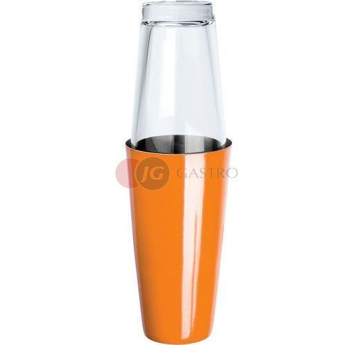 Shaker bostoński 0,9 l ze szklanką pomarańczowy 476003, 476003