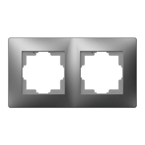 ELEKTROPLAST VOLANTE Ramka uniwersalna 2x Srebrny 2672-06, 2672-06